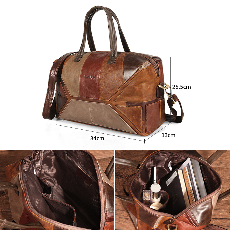 Cobbler Legend Luxury Handbags Women Bags Designer Top-handle Bags Women Handbag Femme Genuine Leather Messenger Shoulder Bag