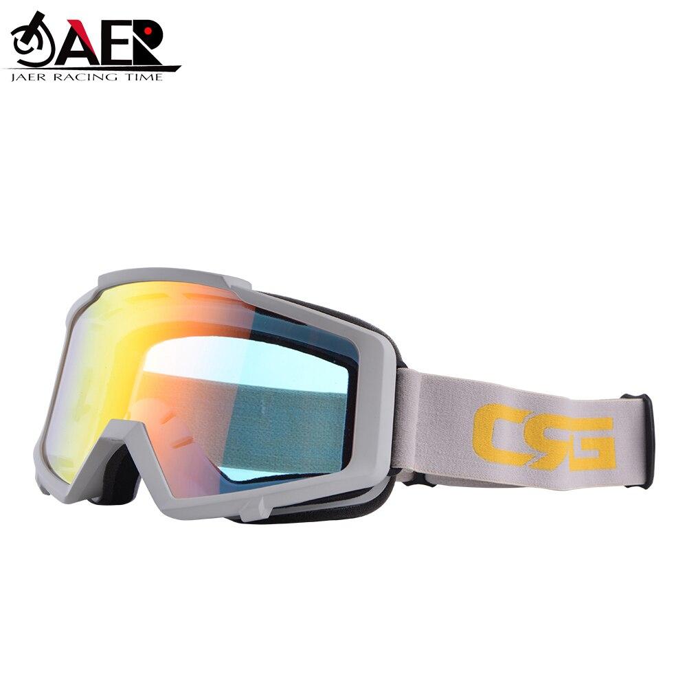 JAER 100% UV gafas de sol, gafas de moto, gafas ATV para Motocross, gafas ATV, casco de moto MX