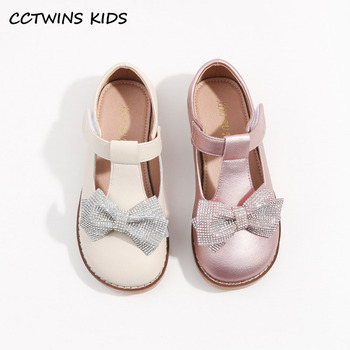 kids shoes 2020 new spring girls fashion genuine leather shoes princess party flats children black mary jane footwear flower CCTWINS Kids Shoes 2021 Spring For Girls Butterfly Shoes Children Fashion Party Flats Mary Jane Toddler Princess Flats GM2750