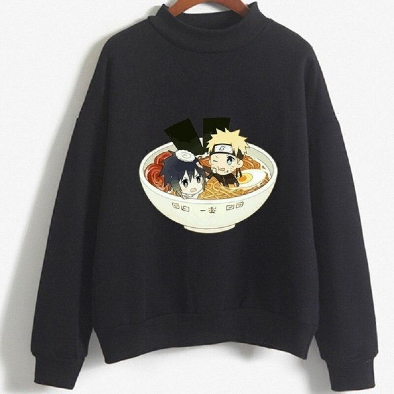Naruto Uchiha Sasuke and Itachi Sweatshirt Men Women Long Sleeve Anime Quality Streetwear Tops Pullover Men