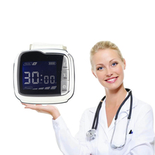 Laser Therapy Watch Rhinitis Physiotherapy Apparatus Treat Hypertension,Diabetes,Cholesterol Lower Blood Pressure/Blood Sugar