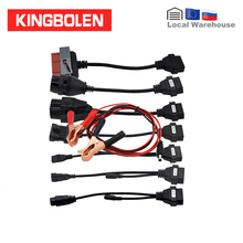 Car Cables Full Set 8pcs for CDPTCS Multidiag pro+ Auto Diagnostic tool OBD2 Car connector OBDII 16pin