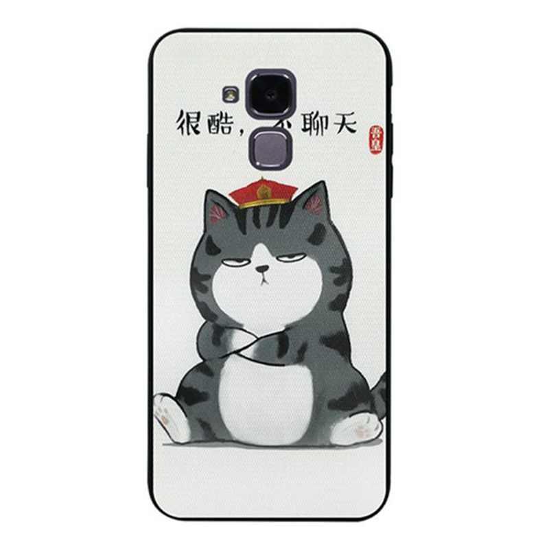 Mutouniao 猫と犬 4 ソフト TPU ケースカバー Lg K4 K8 K10 G7 ThinQ 2016 2017