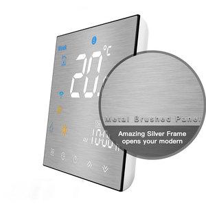 Image 3 - Wifi termostato inteligente temperatura controle remoto/voz controlador para água/piso elétrico aquecimento água/caldeira a gás alexa tuya