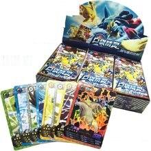 D'origine Takara Tomy 288 pièces/ensemble Carte Pokémon figurine GX Jeu de Cartes à Jouer Figurine Pokemon Cartes Boîte Manches Jouets
