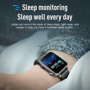 Image 5 - Montre sport connectée SP1 pour hommes et femmes, avec mesure de la température corporelle, fréquence cardiaque, SPO2, oxygène sanguin, VS W26 W46