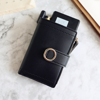 Women Wallets Small Fashion Brand Leather Purse Women Ladies Card Bag For Women Clutch Women Female Purse Money Clip Wallet 10