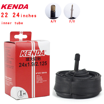 Kenda High quality Bicycle Inner Tube 22inch 24*1-3/8 1.25 1.5 1.75 1.9 2.125 S/V F/V Cycling Mountain Bike Tube Tires image