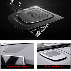 Image 3 - Car dashboard speaker for BMW f15 f16 f25 f26 X3 X4 X5 X6 auto   audio lifting loudspeaker tweeter music player horn speakers