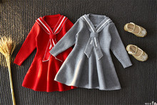 Kids Baby Girl Sweater Dress Korean Style