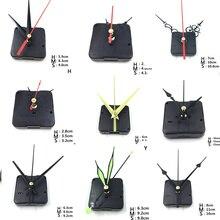 Подвесные DIY кварцевые часы бесшумные настенные часы Кварцевый кварцевый механизм для ремонта деталей часов с иглами