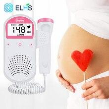 Monitor do bebê doppler fetal ultra-som feto doppler detector casa portátil sonar doppler para grávida 2.5mhz nenhuma radiação