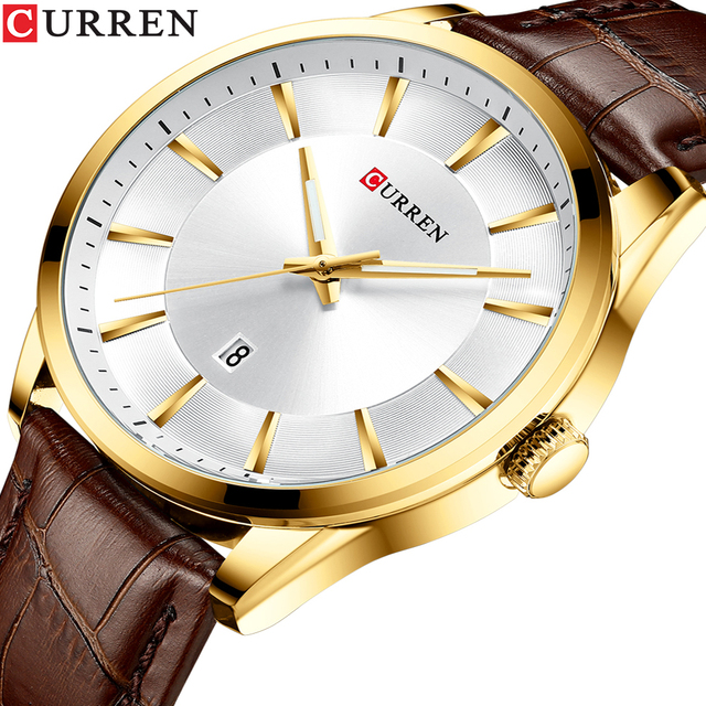 CURREN Mens Watch Top Brand Fashion Business Luxury Quartz Men Watches Waterproof Sport Men's Wristwatch Clock Relogio Masculino