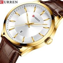 カレンメンズ腕時計トップブランドファッションビジネスの高級石英男性は防水スポーツメンズ腕時計時計レロジオmasculino