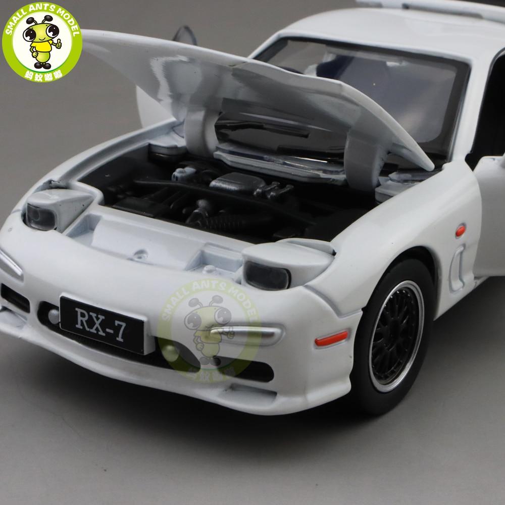 Image 5 - 1/32 JACKIEKIM MAZ DA RX 7 RX 7 литая модель автомобиля игрушки для детей Детское звуковое освещение подаркиИгрушечный транспорт   -