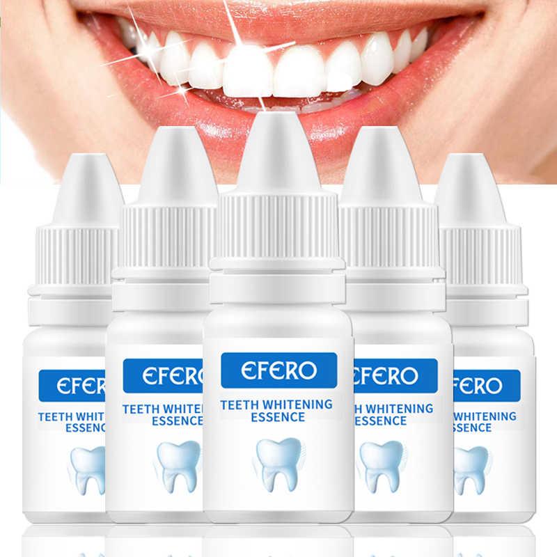 Efero Zähne Bleaching Essenz Oral Hygiene Reinigung Entfernen Plaque Flecken Bleichen Natürlichen Zahn Paste Dental Werkzeuge Instrument