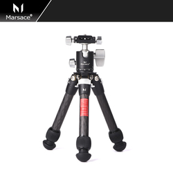 Marsace MT-05 High Rolling Desk Stand Mini Tripod Table and Ball Head for Mirrorless DSLR SONY Canon  Camera  Smartphones
