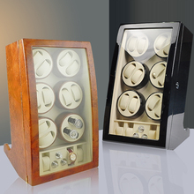 Luxury Watches box Mechanical Watch Winders Locker Automatic Winding Display Cabinet 4 12 16 Slots