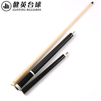 Jianying 2 in 1 Pool Break Jump Cue Black Colors Linen Thread /Bare Wrap Option China
