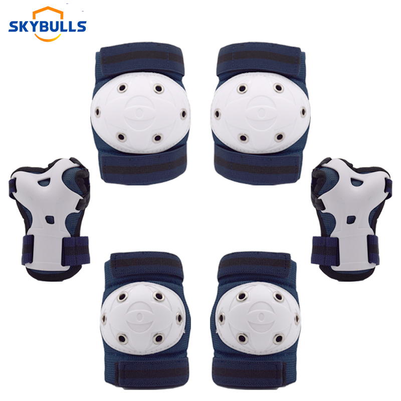 CHILDREN KIDS SHIN ELBOW KNEE PROTECTIVE PAD PROTECTORS SKATING SPORTS GEAR SET