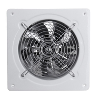 4 Inch 20W 220V High Speed Exhaust Fan Toilet Kitchen Bathroom Hanging Wall Window Glass Small Ventilator Extractor Exhaust Fans|Core Vents| |  -
