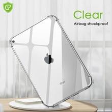 TPU souple Pour ipad étui clair couverture arrière pour iPad Air 10.9 ''2020 Pro 11 Transparent Étui Arrière En Silicone Souple Couverture De Tablette