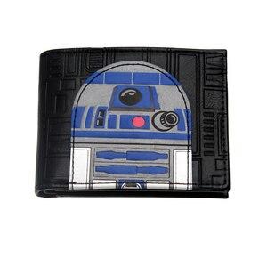 Кошелек Star Wars, модные высококачественные мужские бумажники, дизайнерский Новый женский кошелек, dft2218