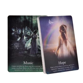 44 The Oracle of the Fairies Tarot Cards Board Games Card Fairy Wonders Nature Guardian Tarot Card Oracle Card Family Card Game felix ayuk the oracle of reason