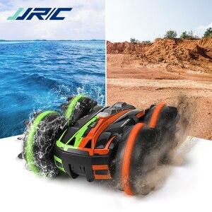 JJRC Q81 автомобиль с дистанционным управлением, RC 4WD гоночный автомобиль, амфибия, 360 градусов, рулон, двусторонний трюк, автомобиль, игрушка дл...