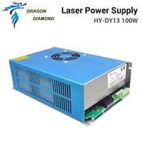 DRAGON DIAMOND Laser Engraver DY13 laser power supply 100W For reci W2 co2 laser tube For co2 laser engraving cutting machine