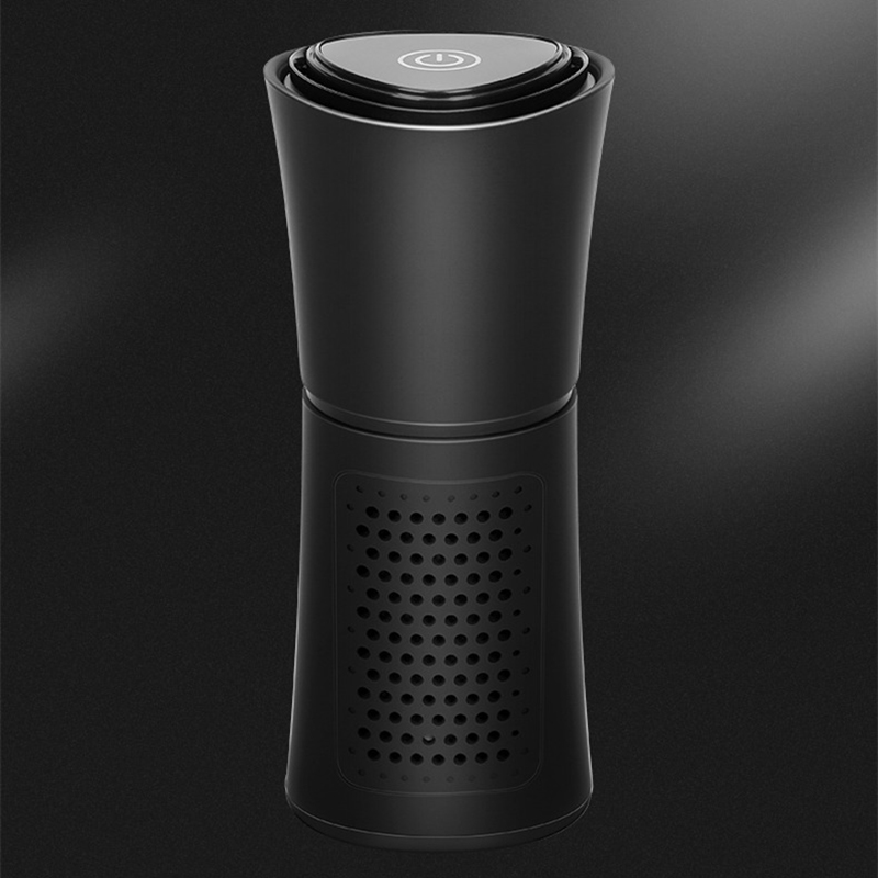 Cup Shape Car Air Purifier Negative Ions Air Cleaner Ionizer Remove PM2.5 Formaldehyde