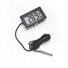 Холодильник термометр электронный цифровой термограф ЖК холодильник морозильник температура тестер с измерительным наконечником сенсор метр 1 м