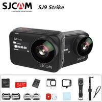 Original SJCAM SJ9 STRIKE 4K Action Camera Touch Screen Live Streaming Gyro/EIS Stabilization Waterproof Sport DV