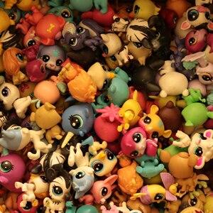 Image 3 - Kup 5 sztuk zdobądź 2 prezenty 4 5 CM luźny stary kot sklep zoologiczny zabawki szczeniak rysunek Mini zabawka figurki klasyczne małe zwierzątko zabawki