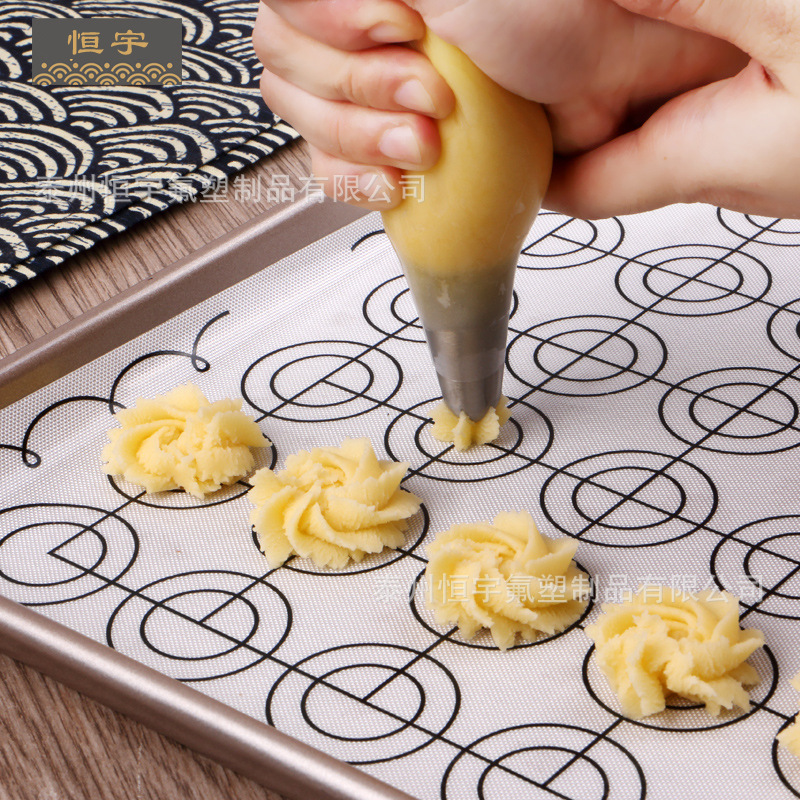 Profession Wholesale Macarons Only Baking Paper Production Macarons Silicone Pad Non-stick Pad Dough Mat Macaron