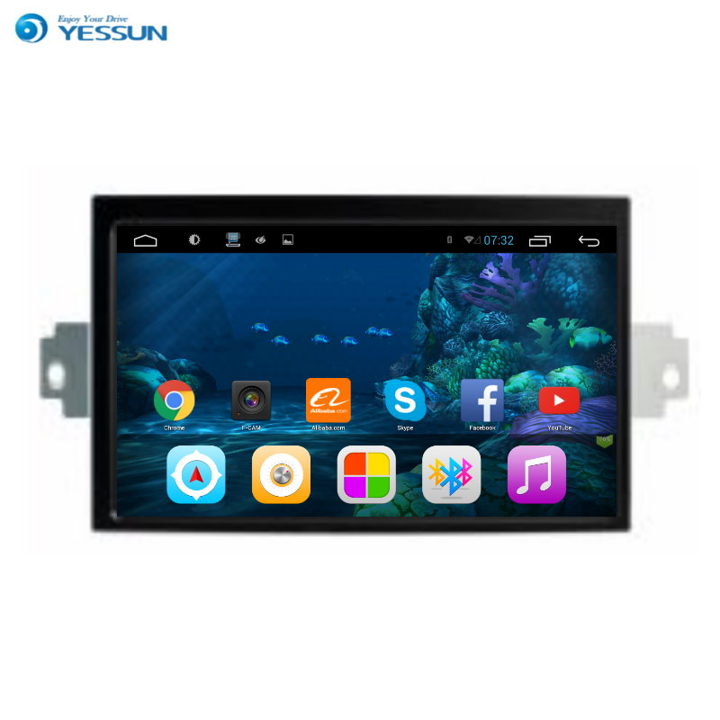 YESSUN Android Radio Car DVD Player <font><b>For</b></font> BENZ E class 2010~2016 stereo radio multimedia <font><b>GPS</b></font> navigation with WIFI Bluetooth AM/FM image