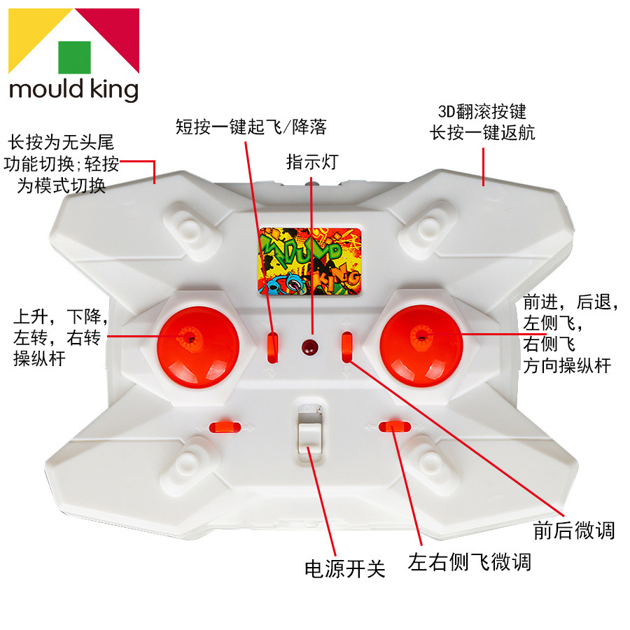 Yuxing Remote Control Aircraft Gift Box Mini Drop resistant Quadcopter Model Plane Model Airplane Convention Version|  -