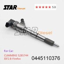 STERNE diesel Common Rail Injektor Düse 0445110376 0445110594 Auto Ersatzteile 0 445 110 376 Für CUMMINSS 5285744 ISF 2,8 Firefox