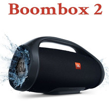 Boombox 2 Bluetooth Wireless Speaker Audio Outdoor Portable IPX7 Waterproof Loudspeaker Music Subwoofer Stereo Charge 4 3 Go 2 3