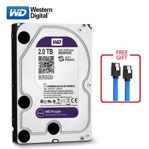 """Image 1 - WD 2TB masaüstü bilgisayar 3.5 """"dahili mekanik sabit sürücü SATA2 2TB 6 gb/sn sabit disk 64MB 7200 RPM/5400 RPM"""