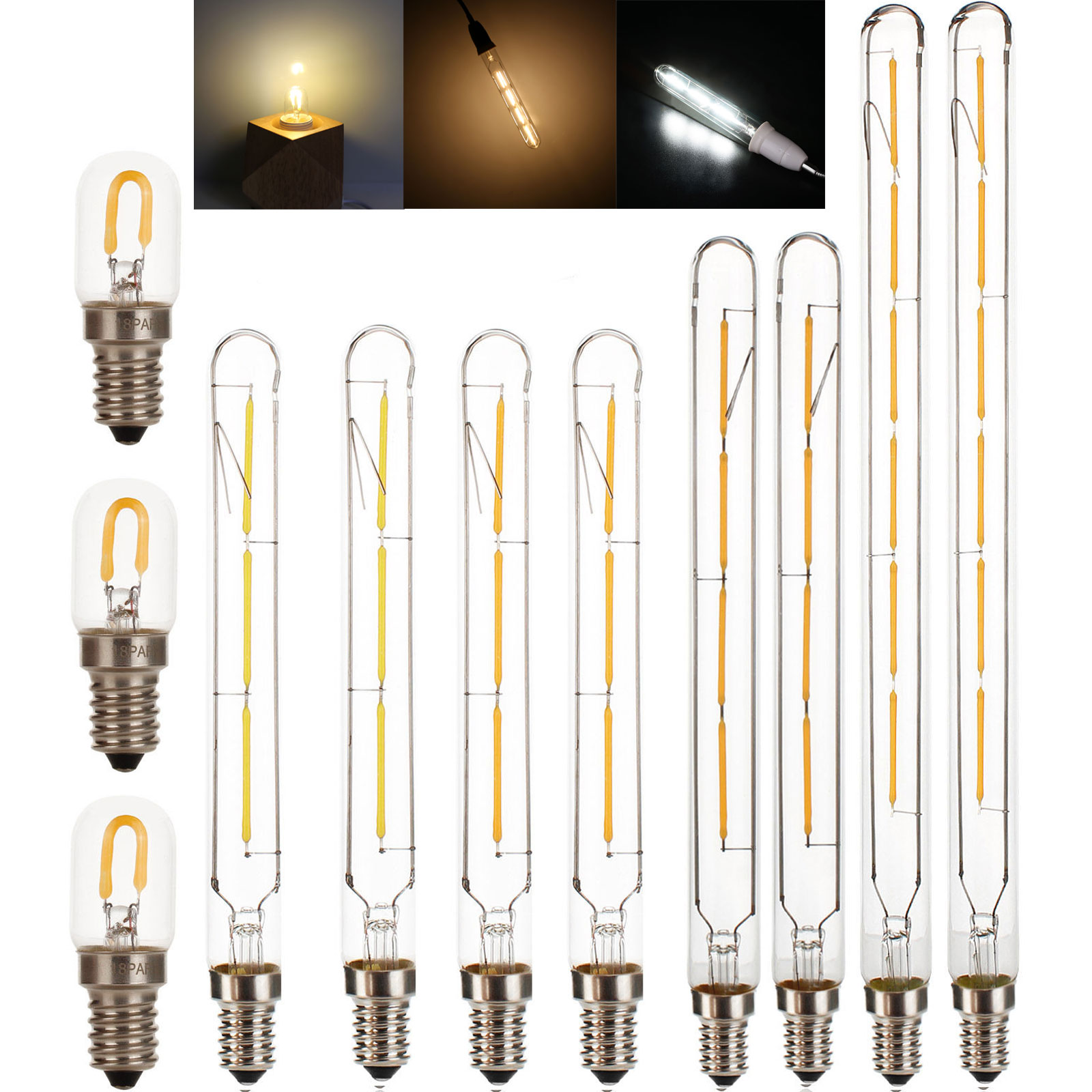 <font><b>T20</b></font> E14 <font><b>lampada</b></font> <font><b>led</b></font> retro edison filament light 220v 240v 230v <font><b>LED</b></font> lamp incandescent bulb Novelty Lights Home Decor 2700K Warm image