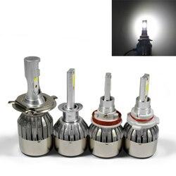 1 PCS LED Cars Headlight Bulbs H 1 3 4 7 9 11 9005 9006 COB 6000K Waterproof 36W 12V 24V Cars Styling Lamp