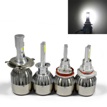 LED Cars Headlight Bulbs H 1 3 4 7 9 11 9005 9006 COB 6000K Waterproof 36W 12V 24V Cars Styling Lamp