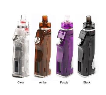 Hotcig – Kit de cigarettes électroniques RDS 80W TC, 100% d'origine, avec batterie 18650 sans batterie, écran 0.96 pouces, avec adaptateur filetage 510