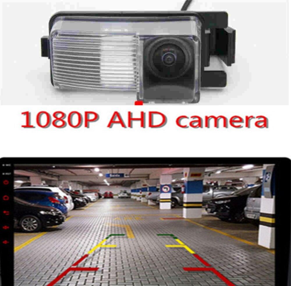 AHD 1080P рыбий глаз камера заднего вида для парковки автомобиля камера заднего вида для Nissan Geniss Tiida Livina GF-R 350Z 370Z Sentra Cube Versa