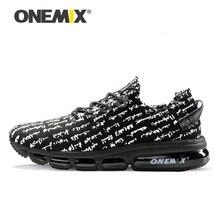 Onemix 2016 رجل الاحذية النساء المشي أحذية تدليك ذكر الرياضة رياضة ضوء تنفس أحذية الركضrunning shoesmens running shoes2016 mens running shoes