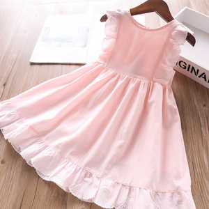 Image 4 - 2020 Spring and Summer Baby Girls Cotton Vest Dress Childrens Clothing Wholesale