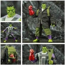"""Custom Avenger 4 Endgame Hulker Quantum Vestito 8 """"20 centimetri Action Figure Movie Robert Bruce Banner Legends Originale ZD giocattoli di Modello Della Bambola"""