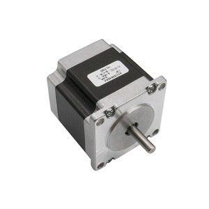 Image 3 - Набор из 4 осевого шагового двигателя nema 23 1.2N.m мотор + драйвер двигателя TB6600 + 5 осевая интерфейсная плата + блок питания, запчасти для фрезерного станка с ЧПУ