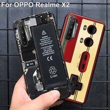 For Oppo Realme X2 case RealmeX2 back co